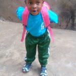 Tochter Quail 1. Kindergartentag